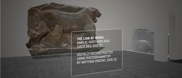 Lost artifacts in RecoVR Mosul